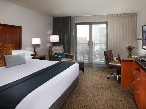 King Balcony room at The Paramount Hotel