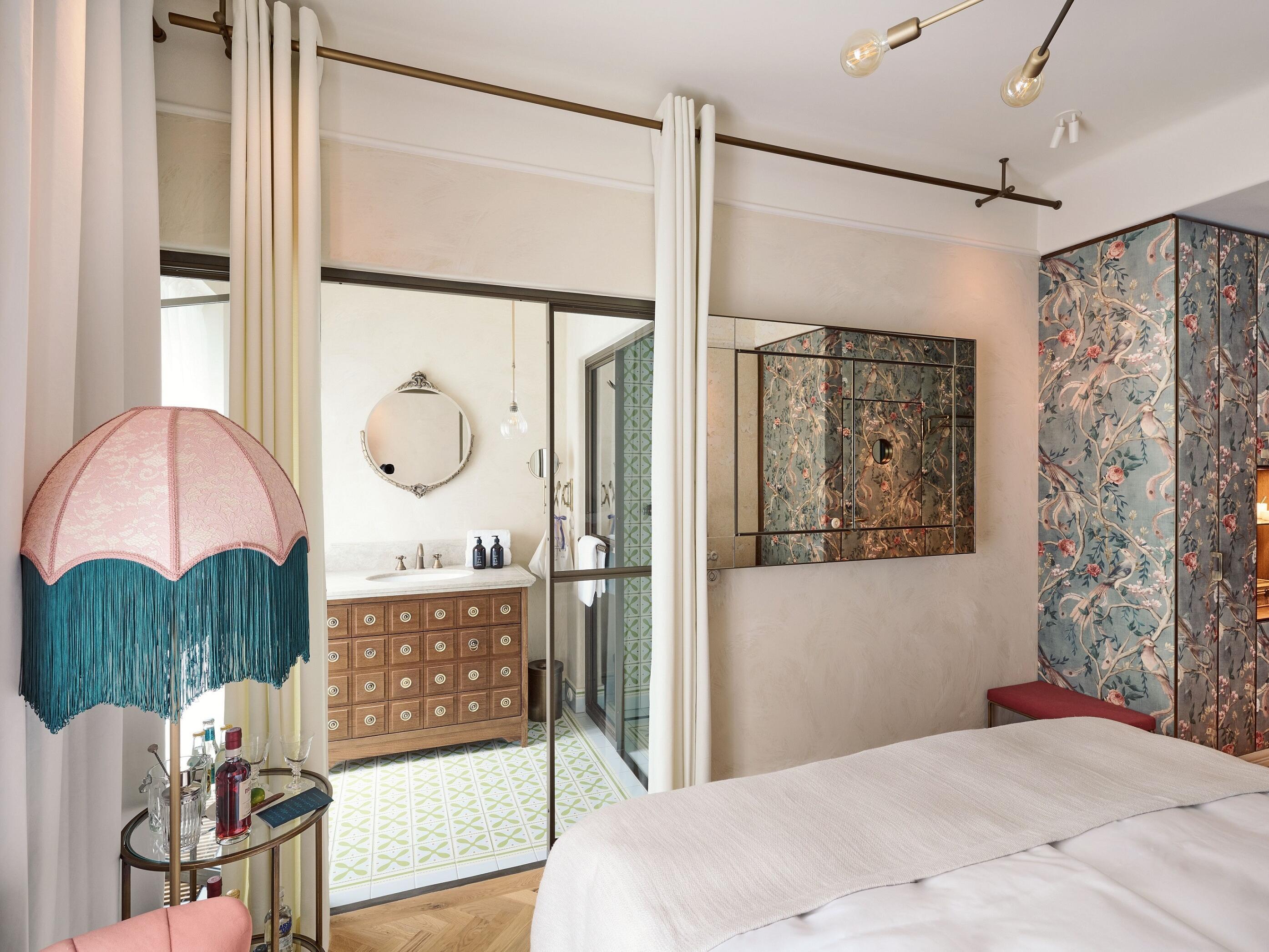 Sicht des Chic Zimmers vom Hotel Motto Wien