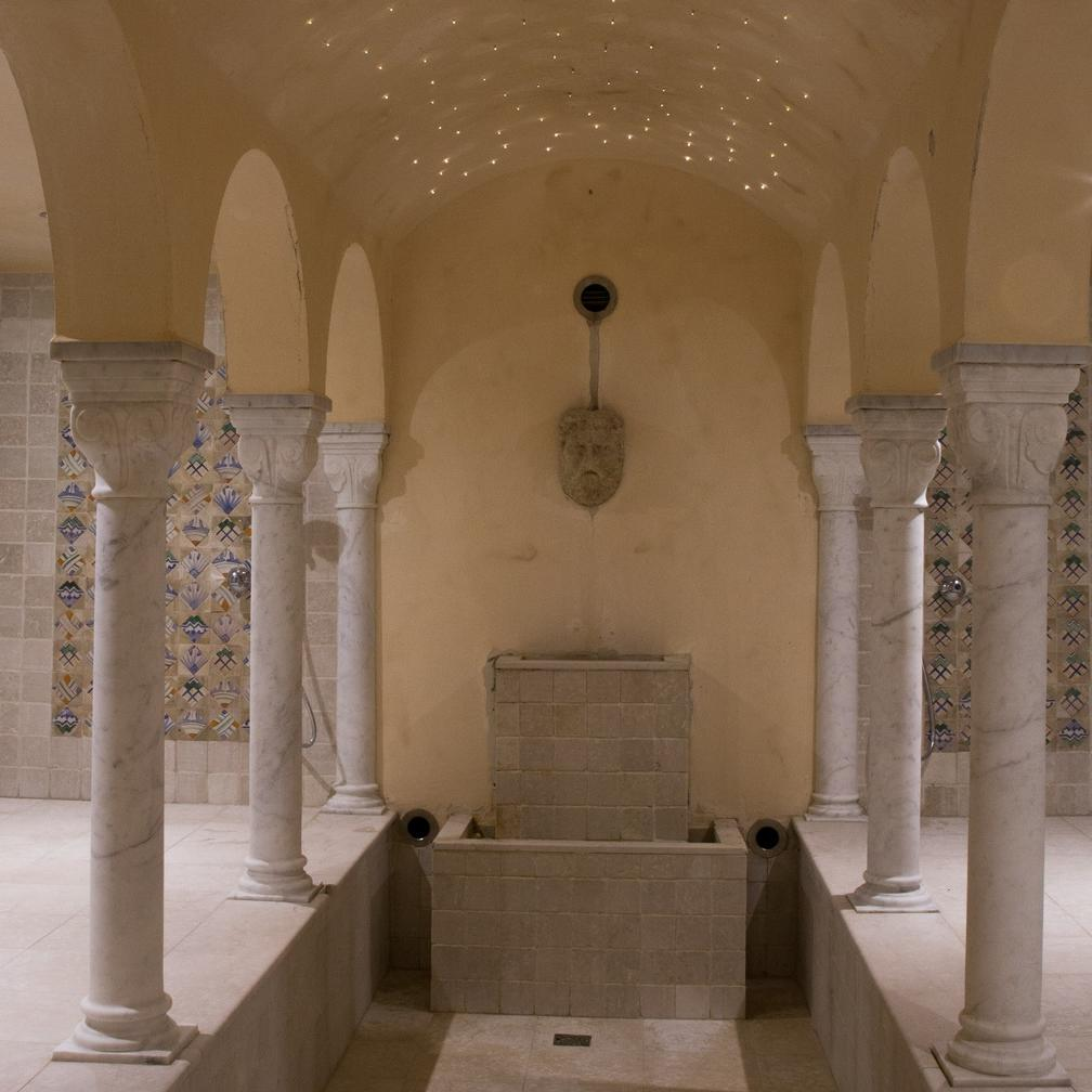 Turkish bath Turin Principi hotel