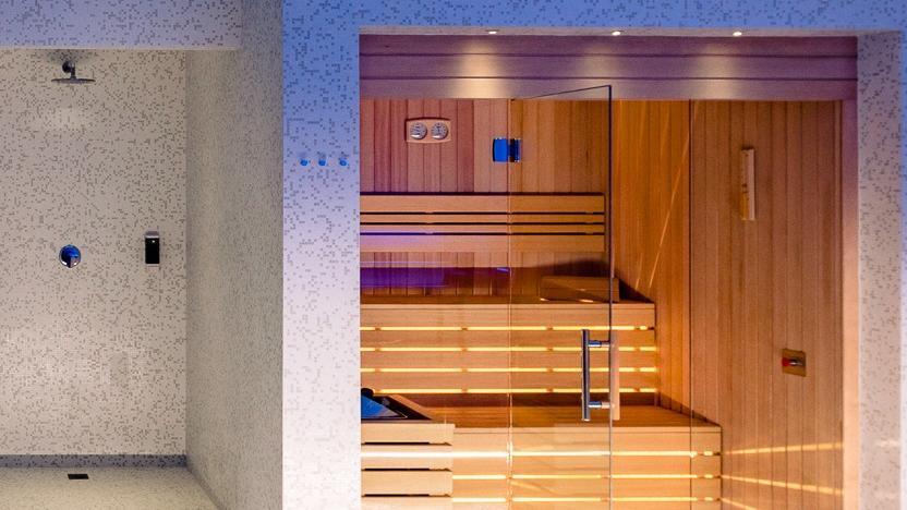 Sauna SPA Golf Hotel Cavaglià