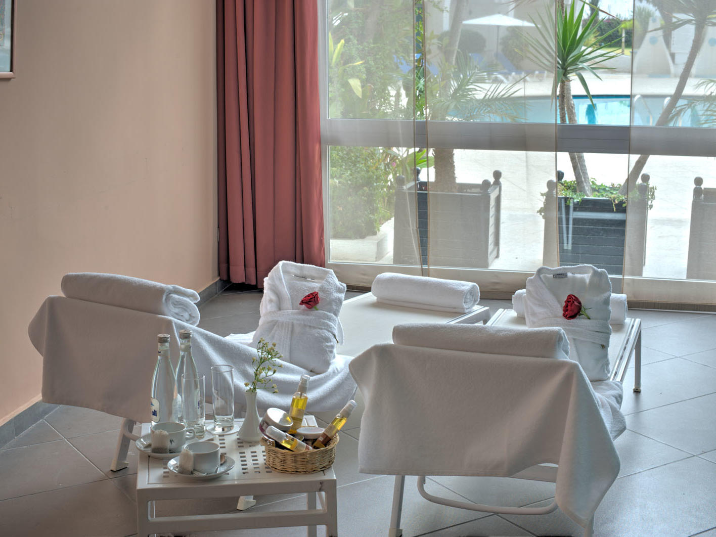 Spa at Kenzi Solazur Hotel in Tangier, Morocco