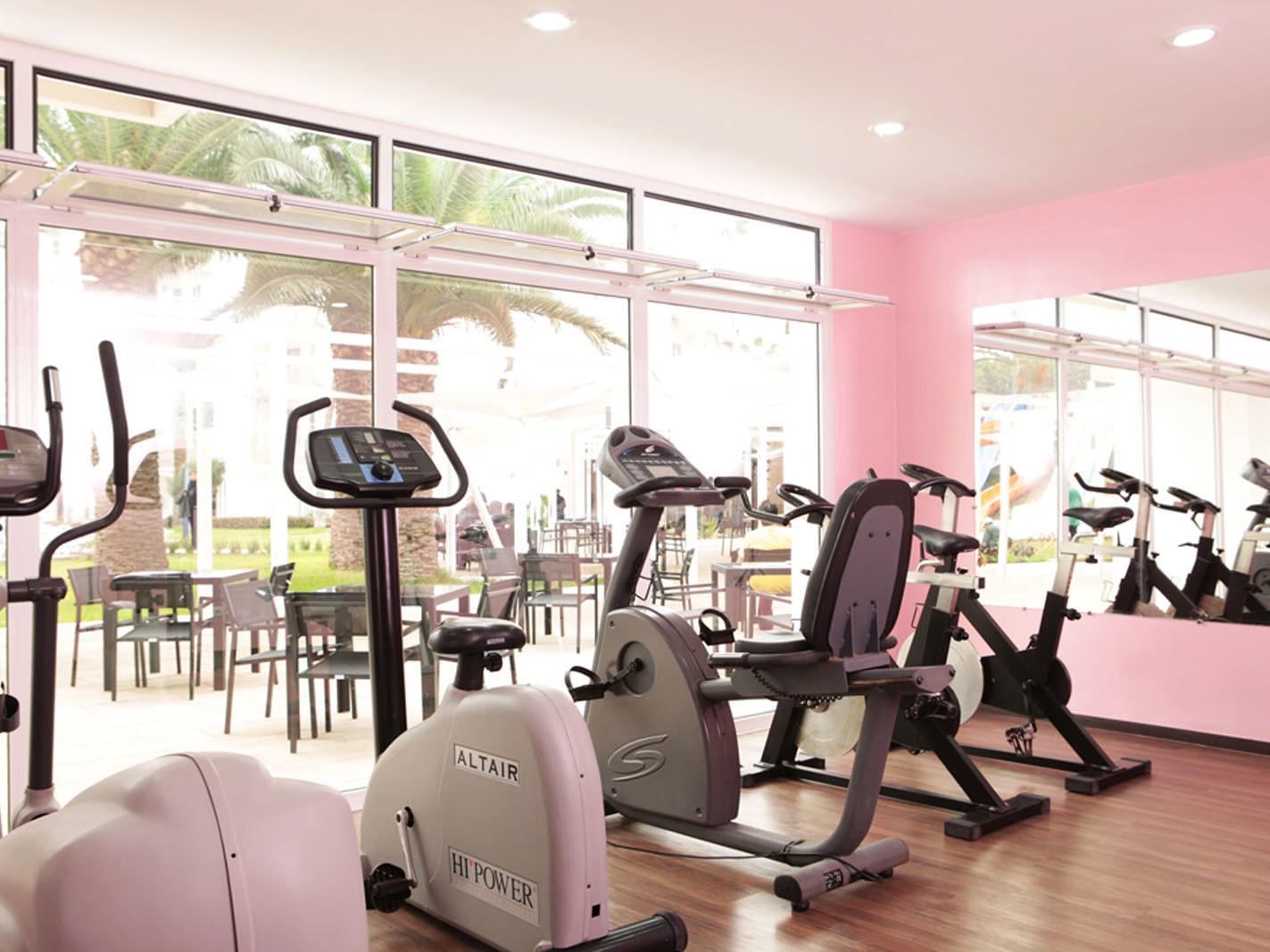 Gym at Kenzi Europa All Inclusive Hotel in Agadir, Morocco