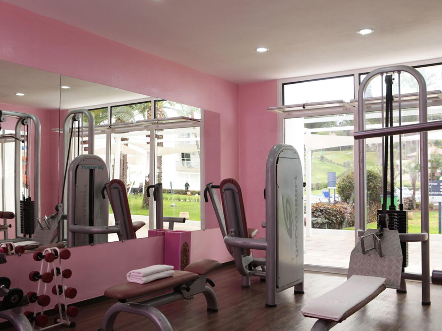 Gym at Kenzi Europa All Inclusive Hotel in Agadir, Morocco