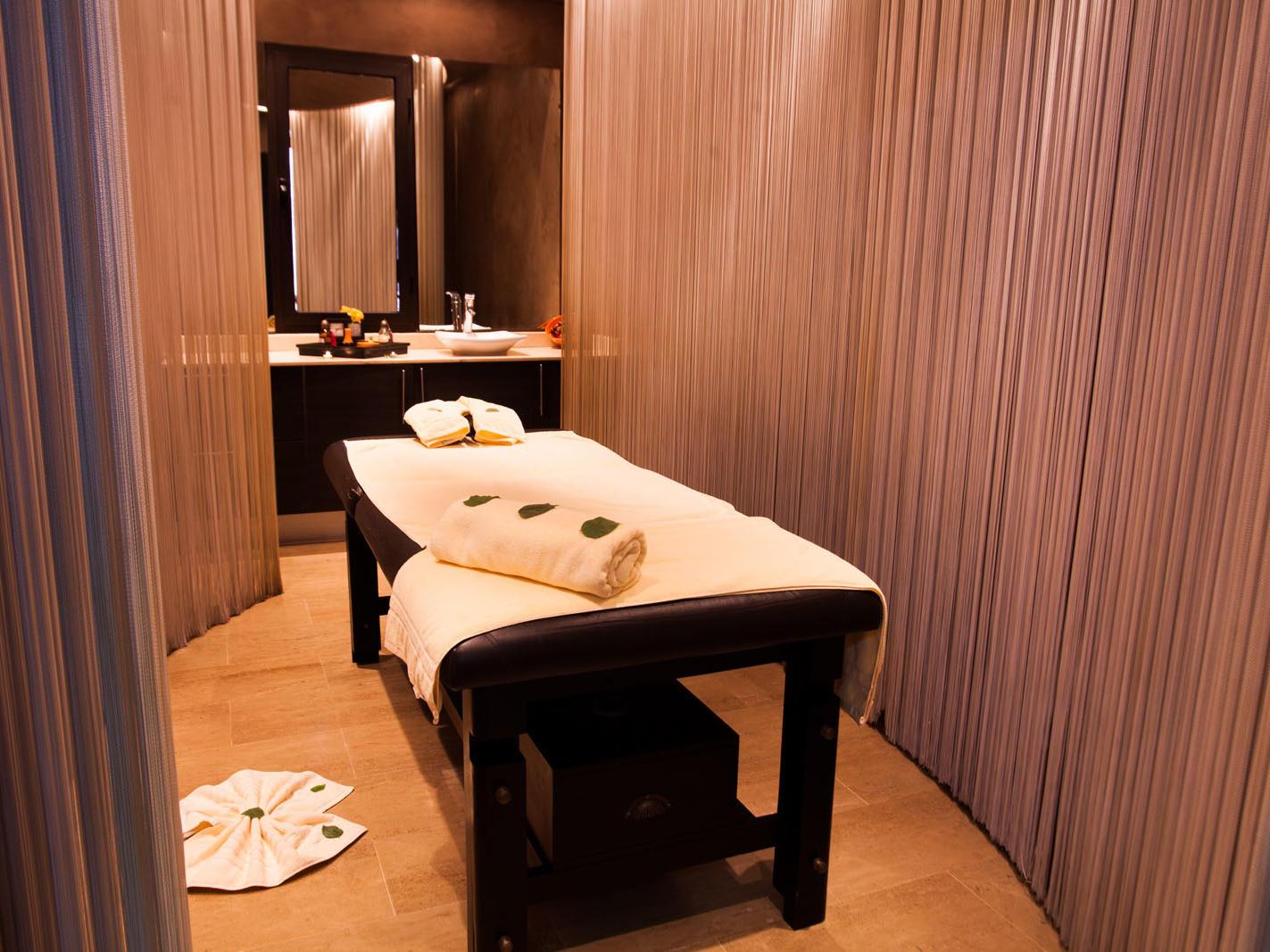 Spa at Kenzi Club Agdal Medina Hotel in Marrakesh, Morocco