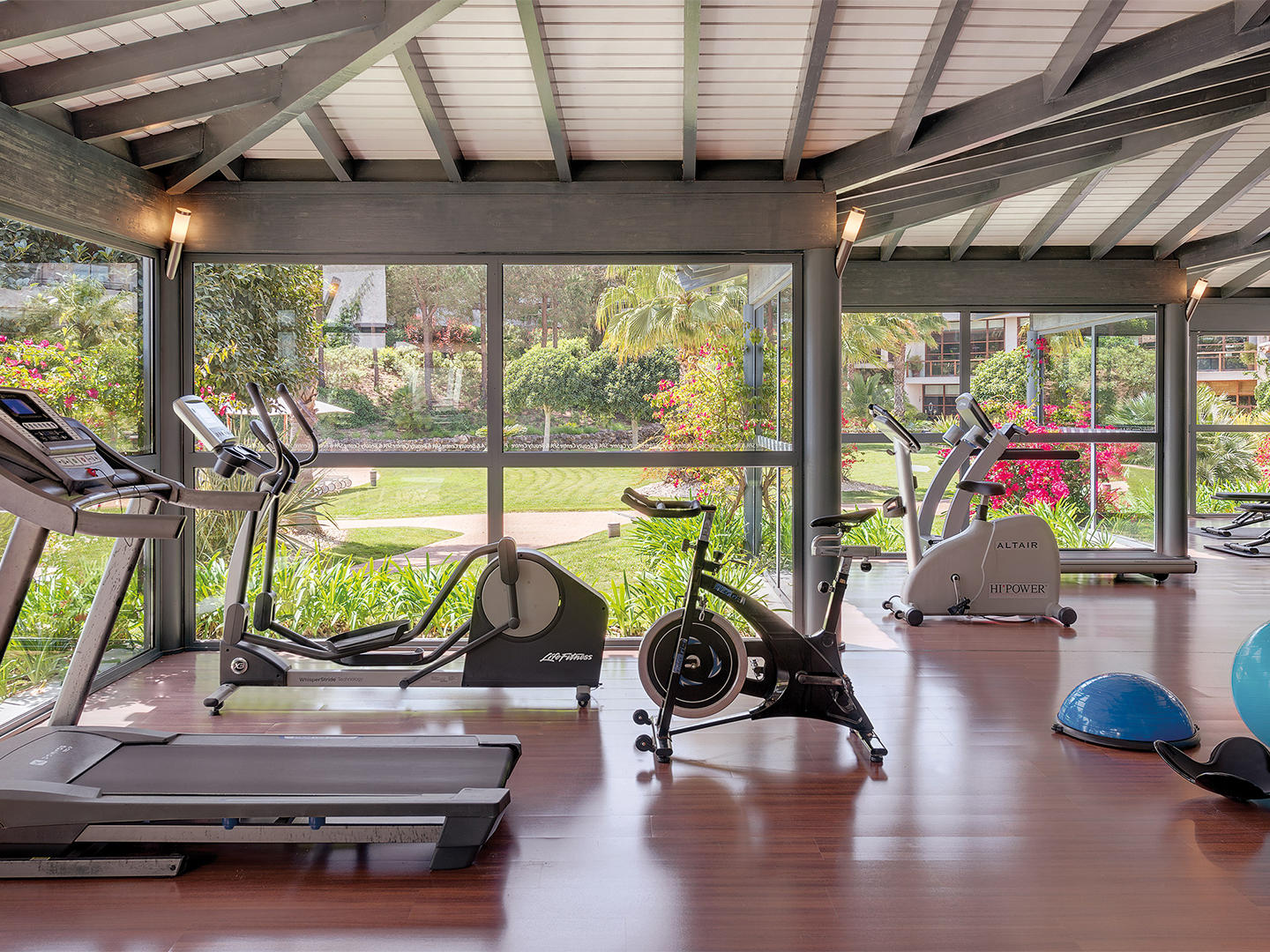 gym at Precise Resort El Rompido