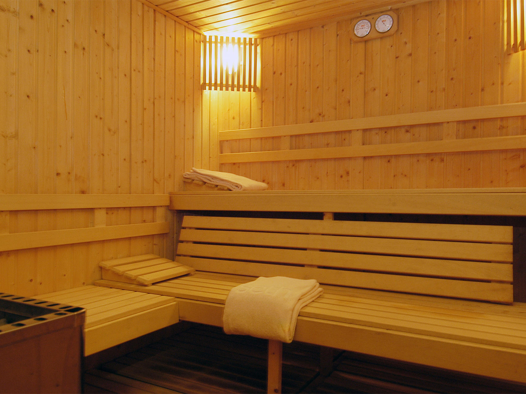 sauna at Precise Resort El Rompido