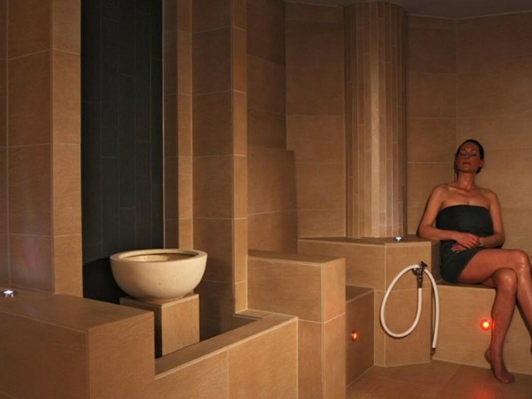 Sauna & Steam Bath at Residenz Hotel Am Martinsberg