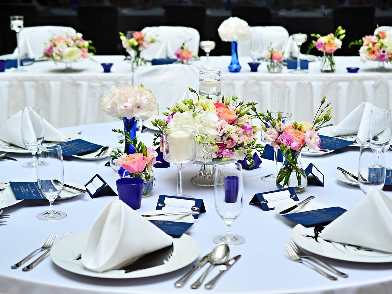 Diamond Wedding Reception Package at Aria Hotel in Prague
