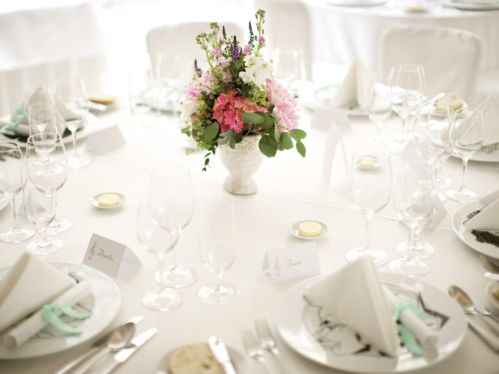 Pearl Wedding Reception Package  at Aria Hotel in Prague