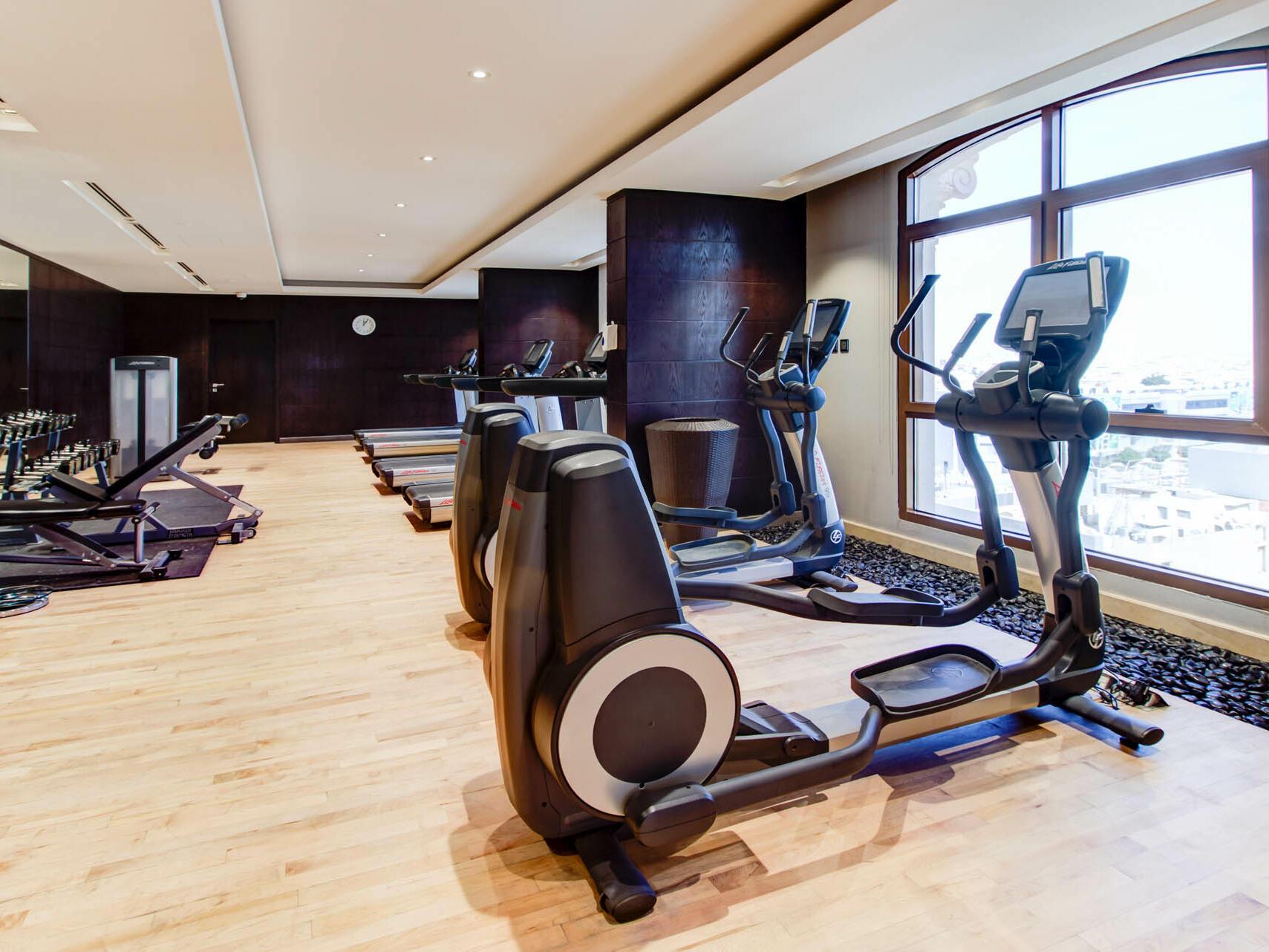 Gym at Narcissus Hotel & Spa Riyadh