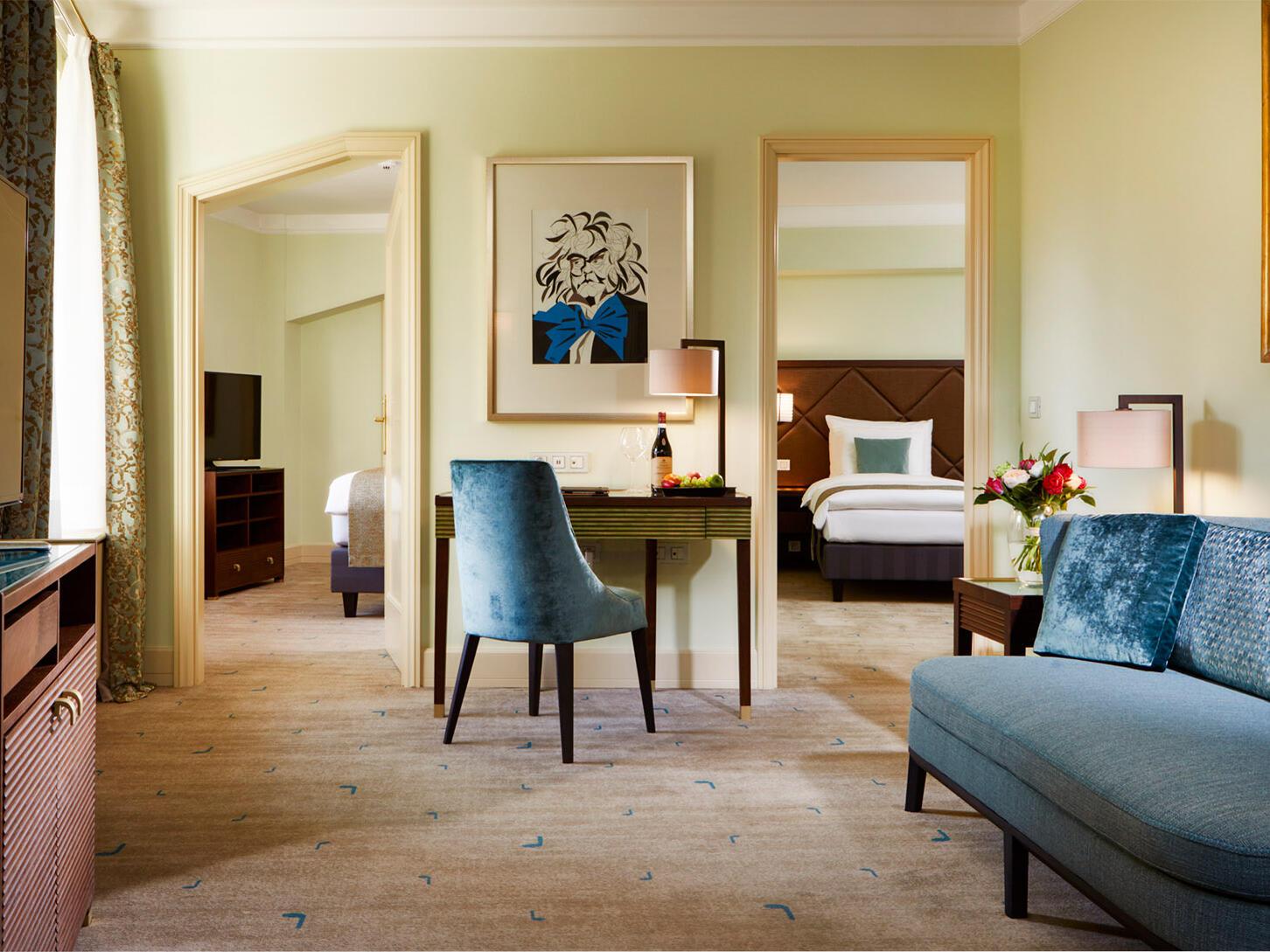 Beethoven Luxury Suite at Aria Hotel in Prague
