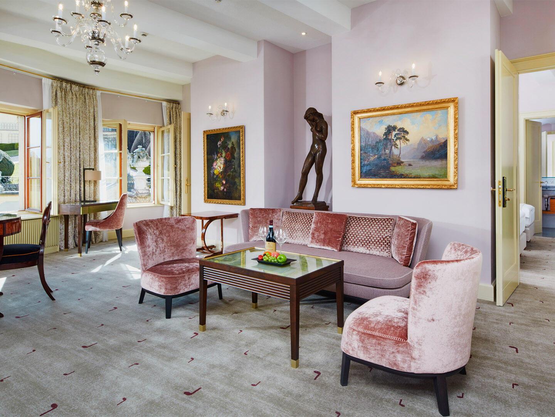 Mozart Luxury Suite at Aria Hotel in Prague
