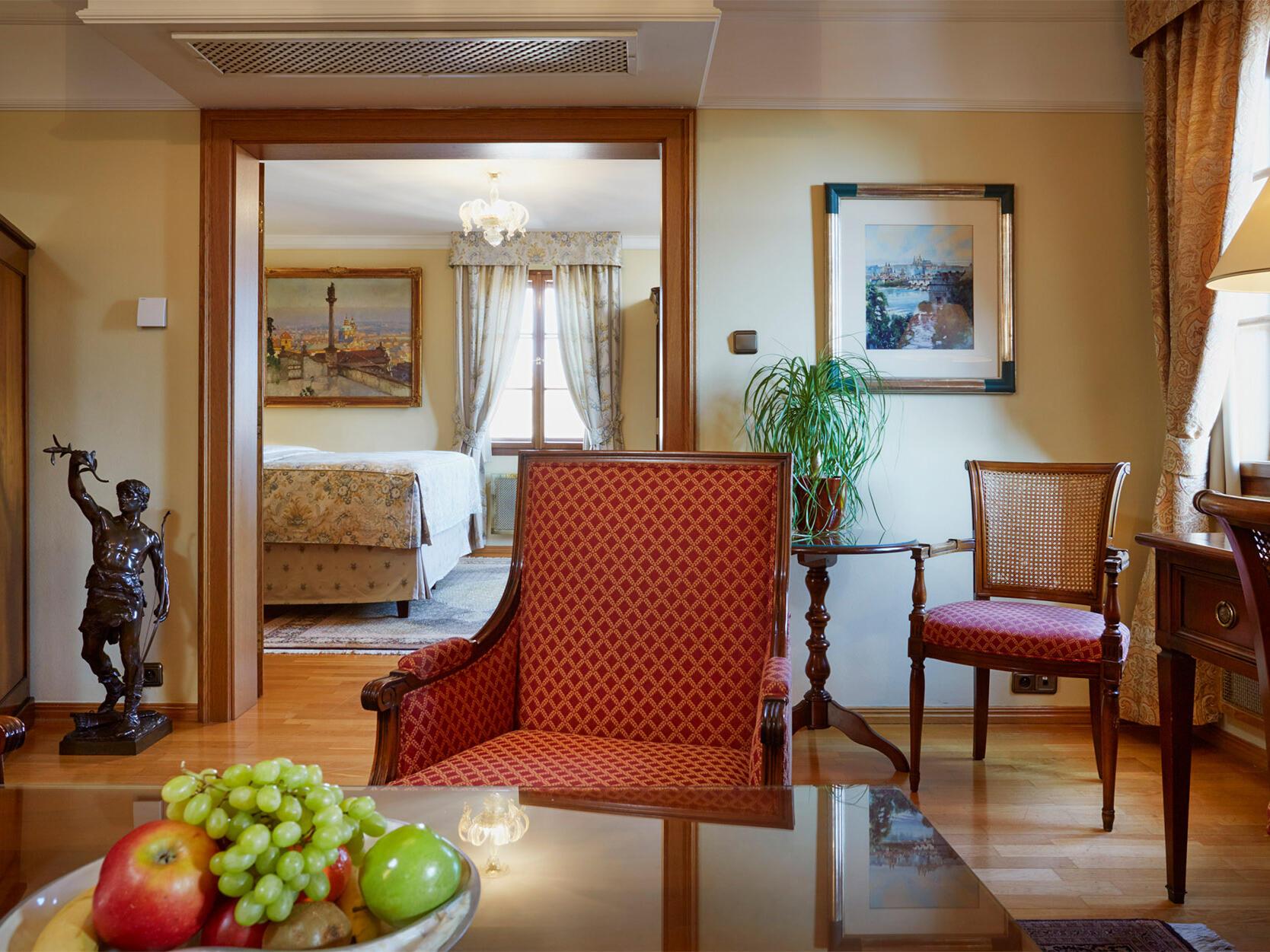 Rudolf II Suite at Golden Well Hotel in Prague