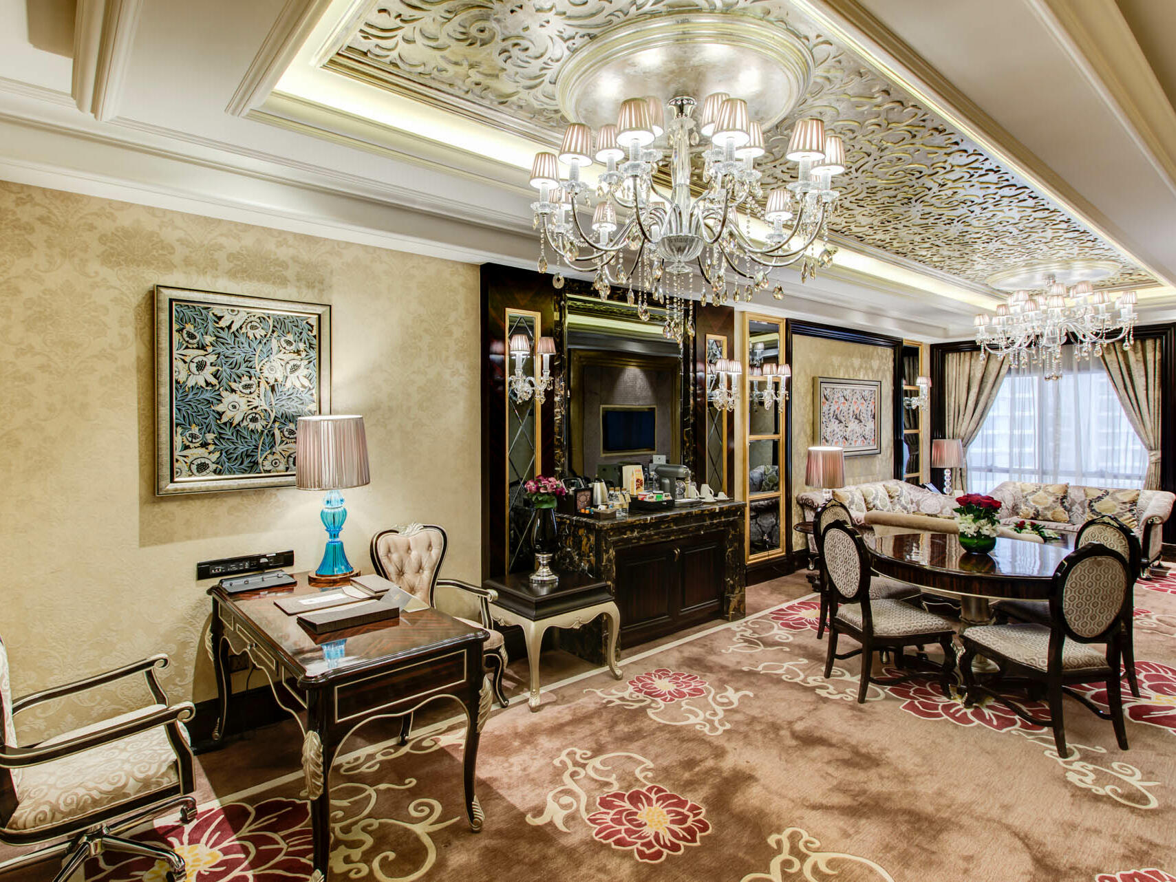 Presidential Suite at Narcissus Hotel & Spa Riyadh