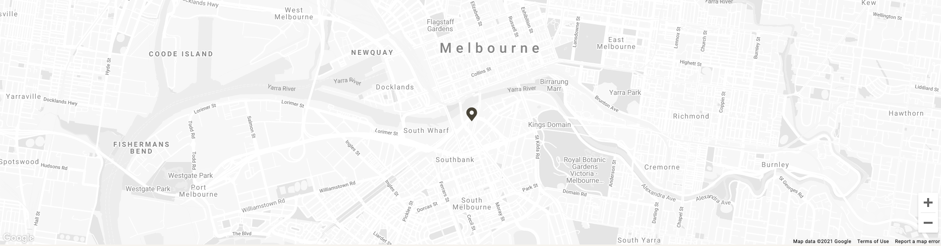 Map image of Crown Promenade Melbourne