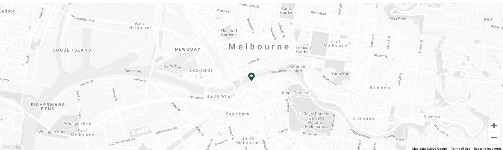 Map image of Crown Towers Melbourne