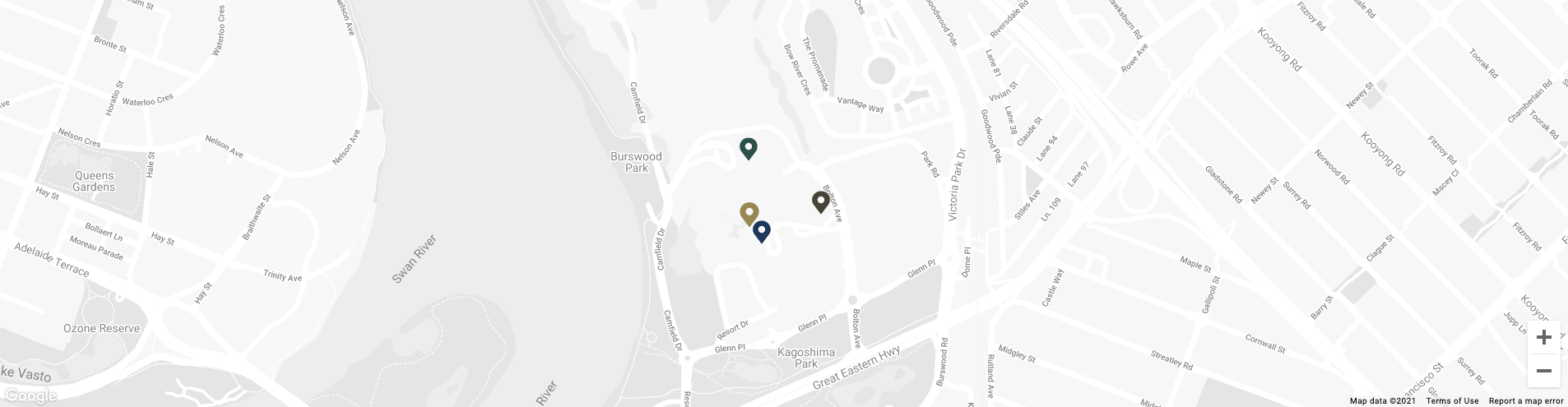 Map image of Poolside Bar & Grill