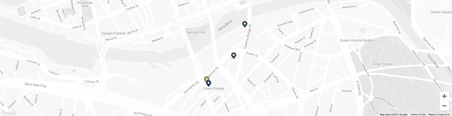 Map image of Mr. Hive Kitchen and Bar