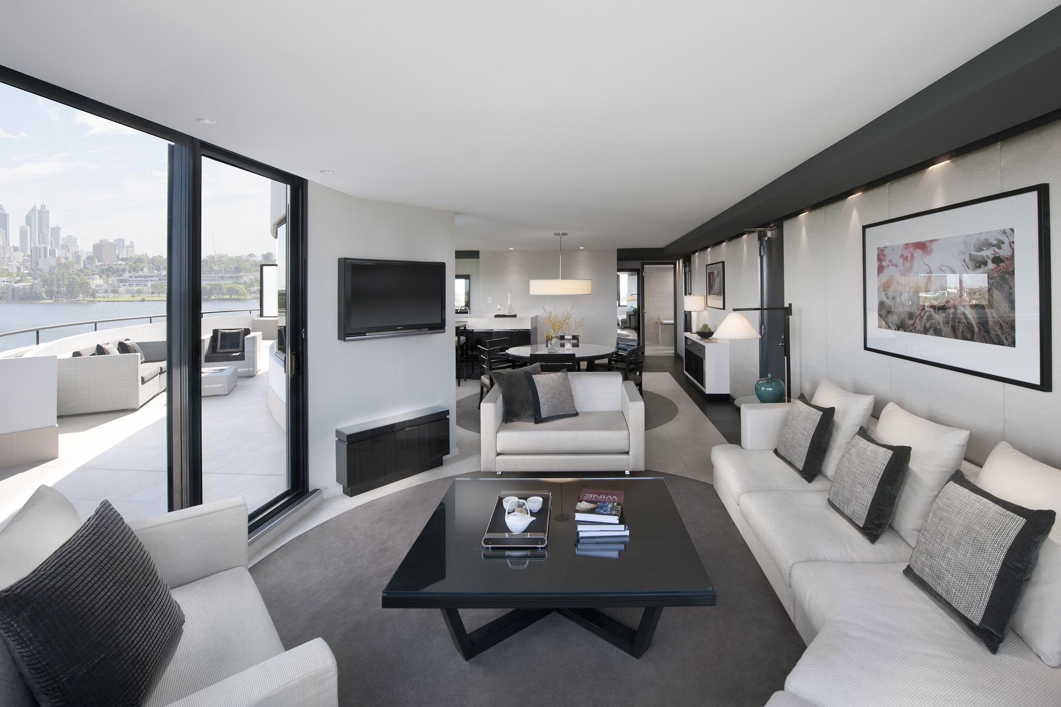 Loft Accommodations At Crown Metropol Perth