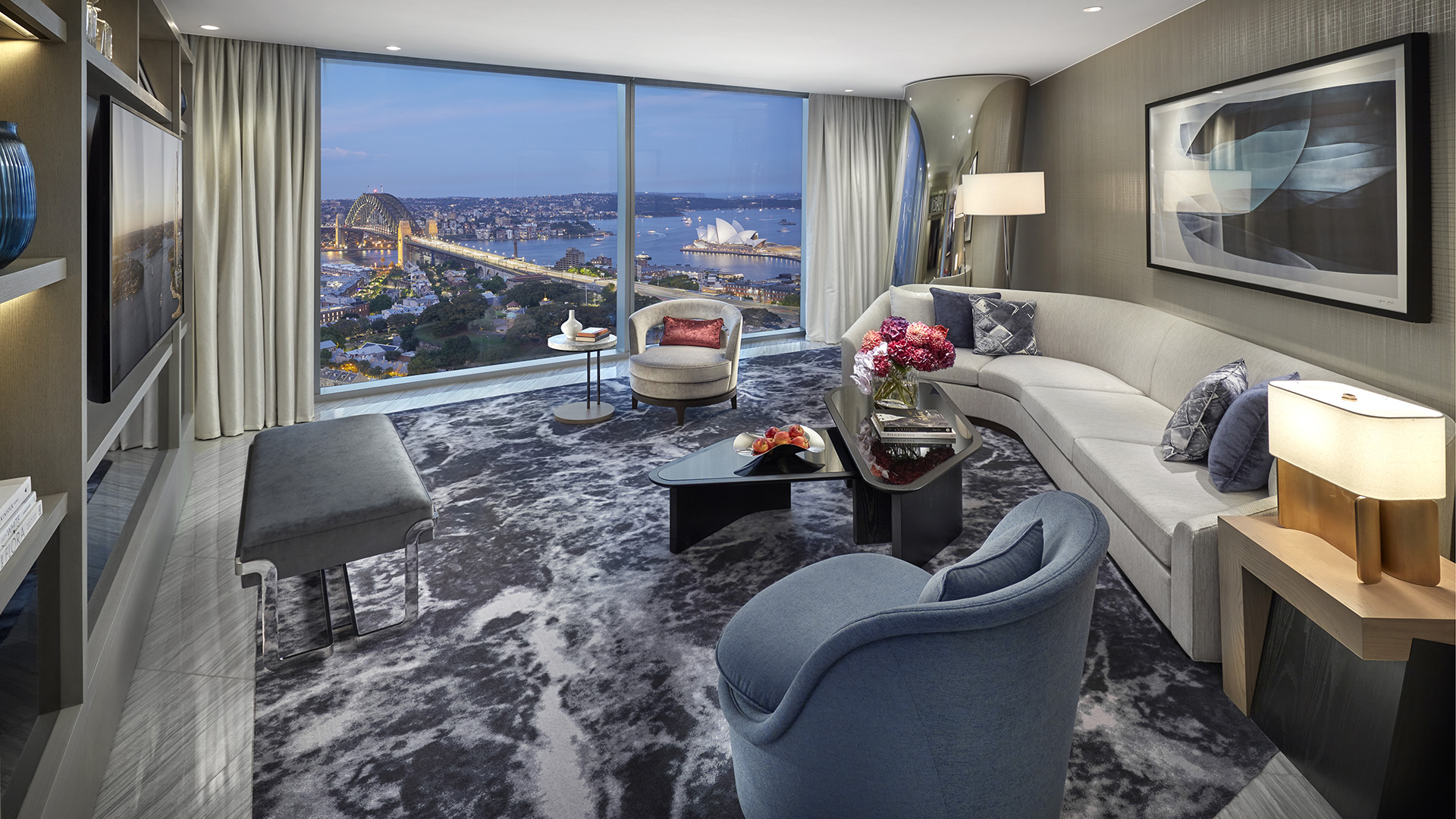 Opera Tower Suite Accommodation At Crown Towers Sydney