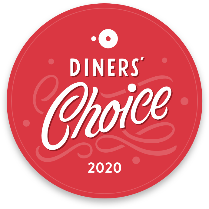 Logo for Diners' Choice 2020