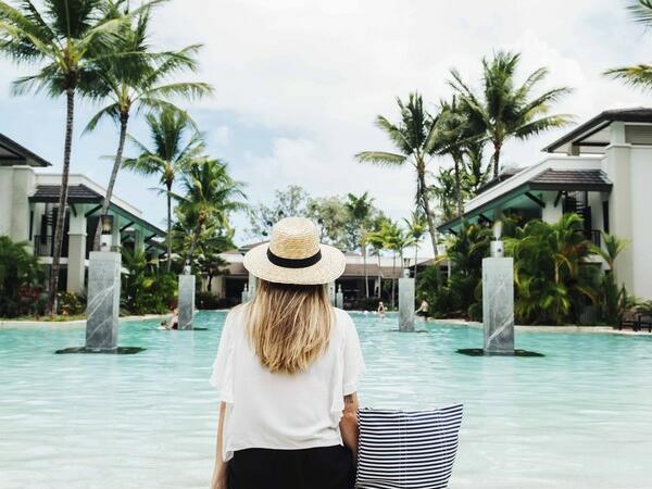 Resort Pool at Pullman Port Douglas sea temple resort and spa