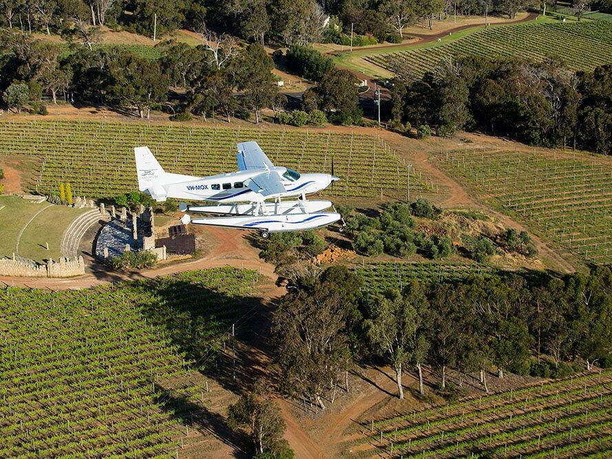 Winery Aerial at Pullman Bunker Bay Resort