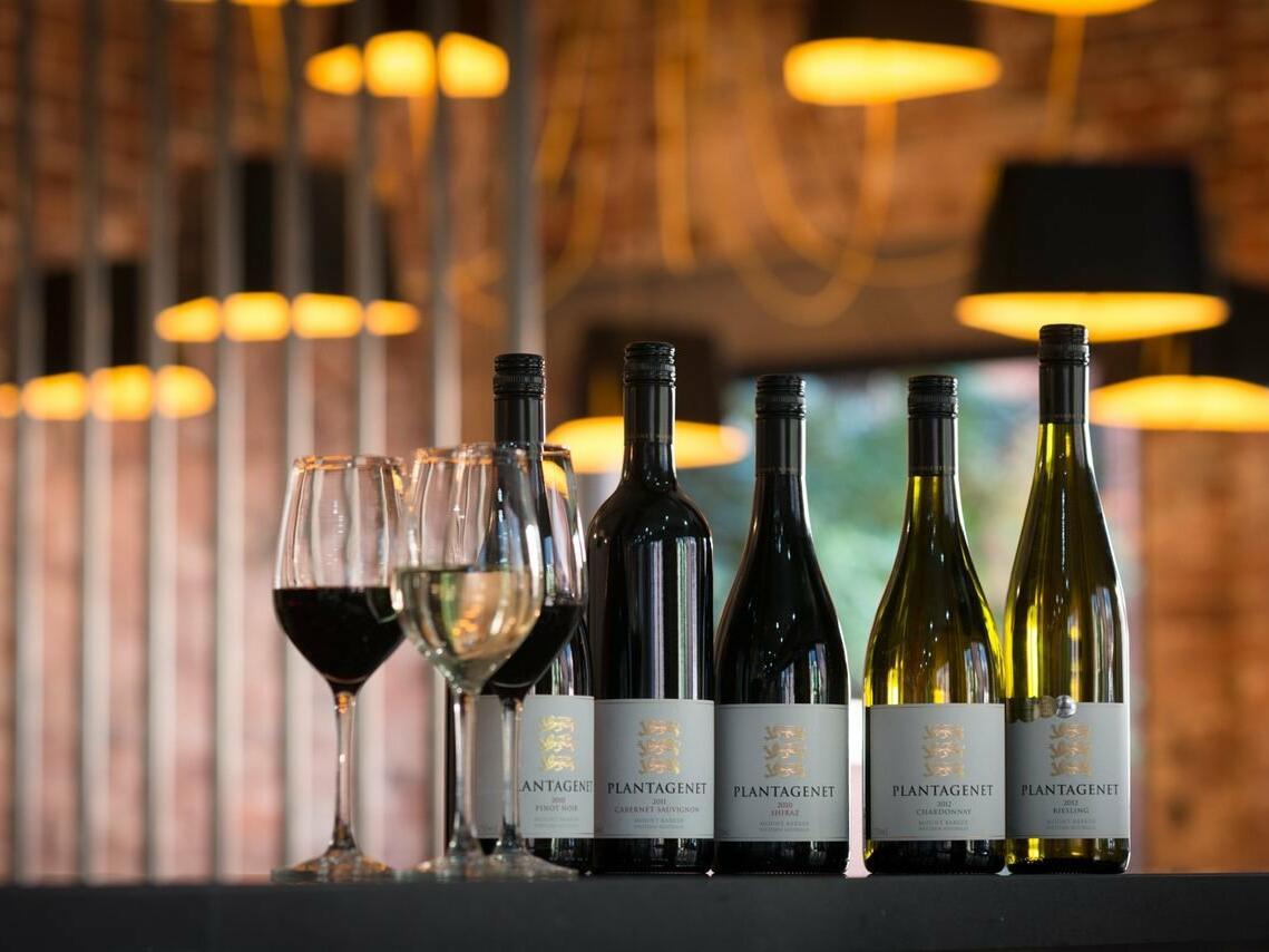 Wines at Pullman Bunker Bay Resort