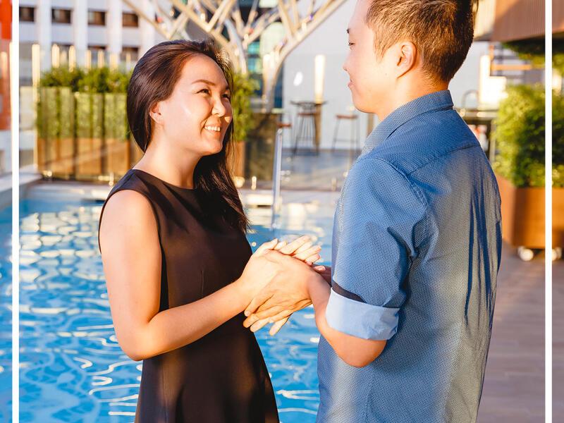 Honeymoons at Pullman and Mercure King George Square Brisbane