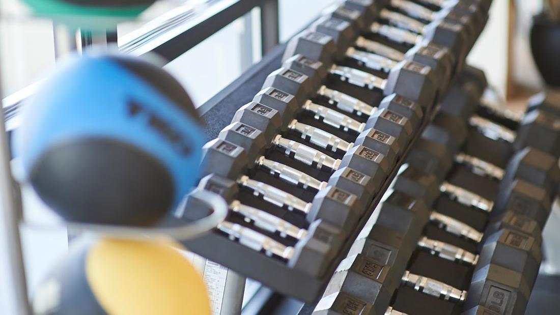 Fitness Room at Warwick Denver