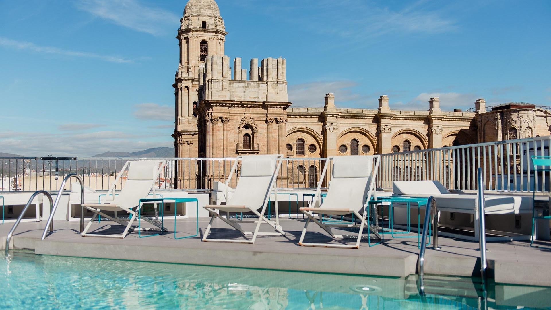 The TOP Pool with Cathedral View