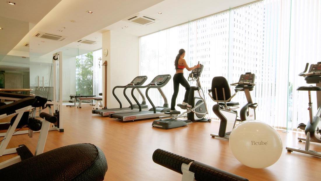 Fitness Centre at Rembrandt Hotel Bangkok
