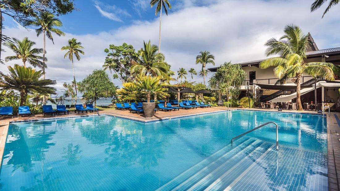 Adults Only Pool at Warwick Fiji