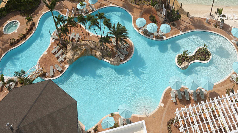 paradise island swimming pool
