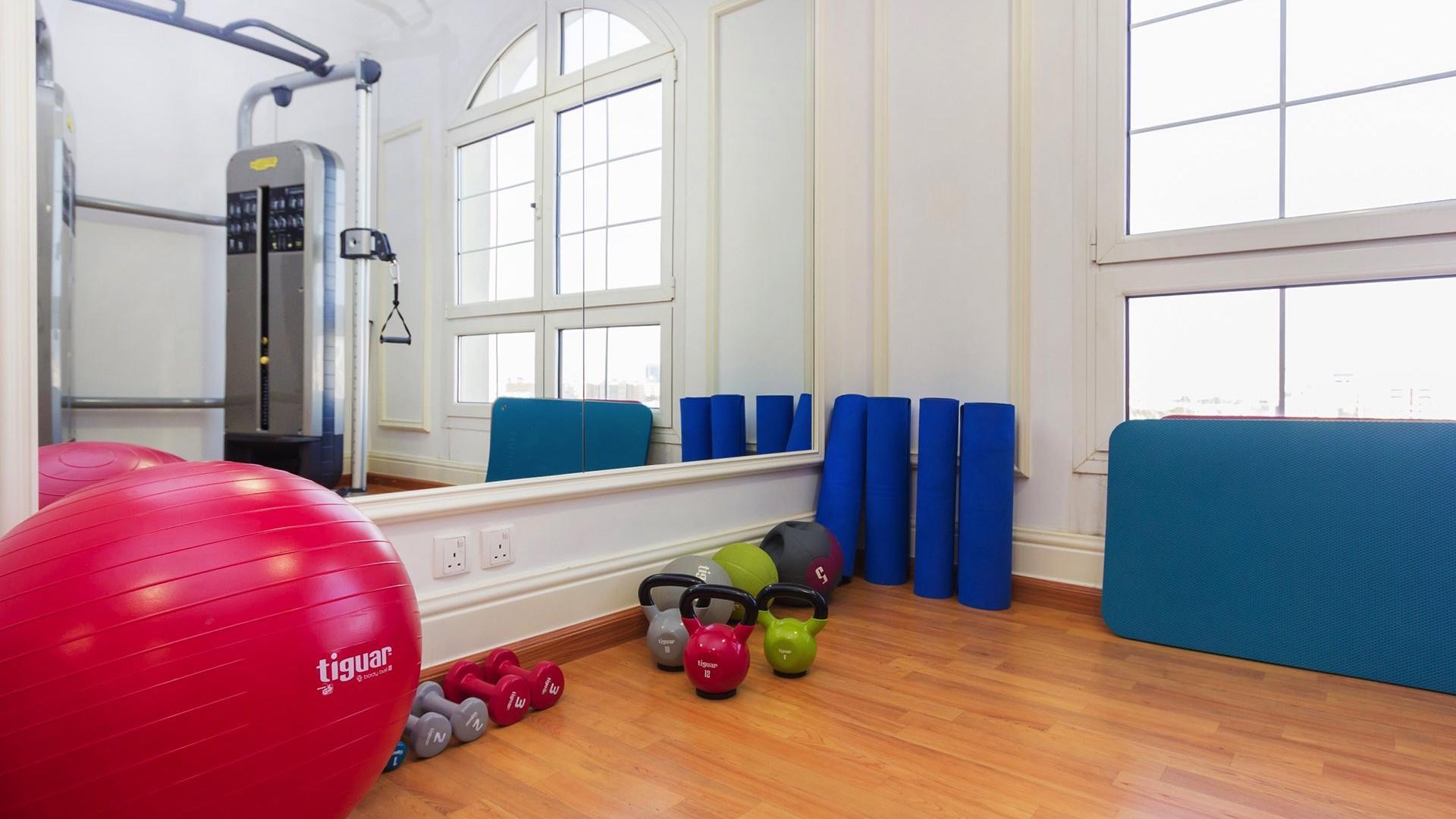 Fitness Room at Warwick Doha