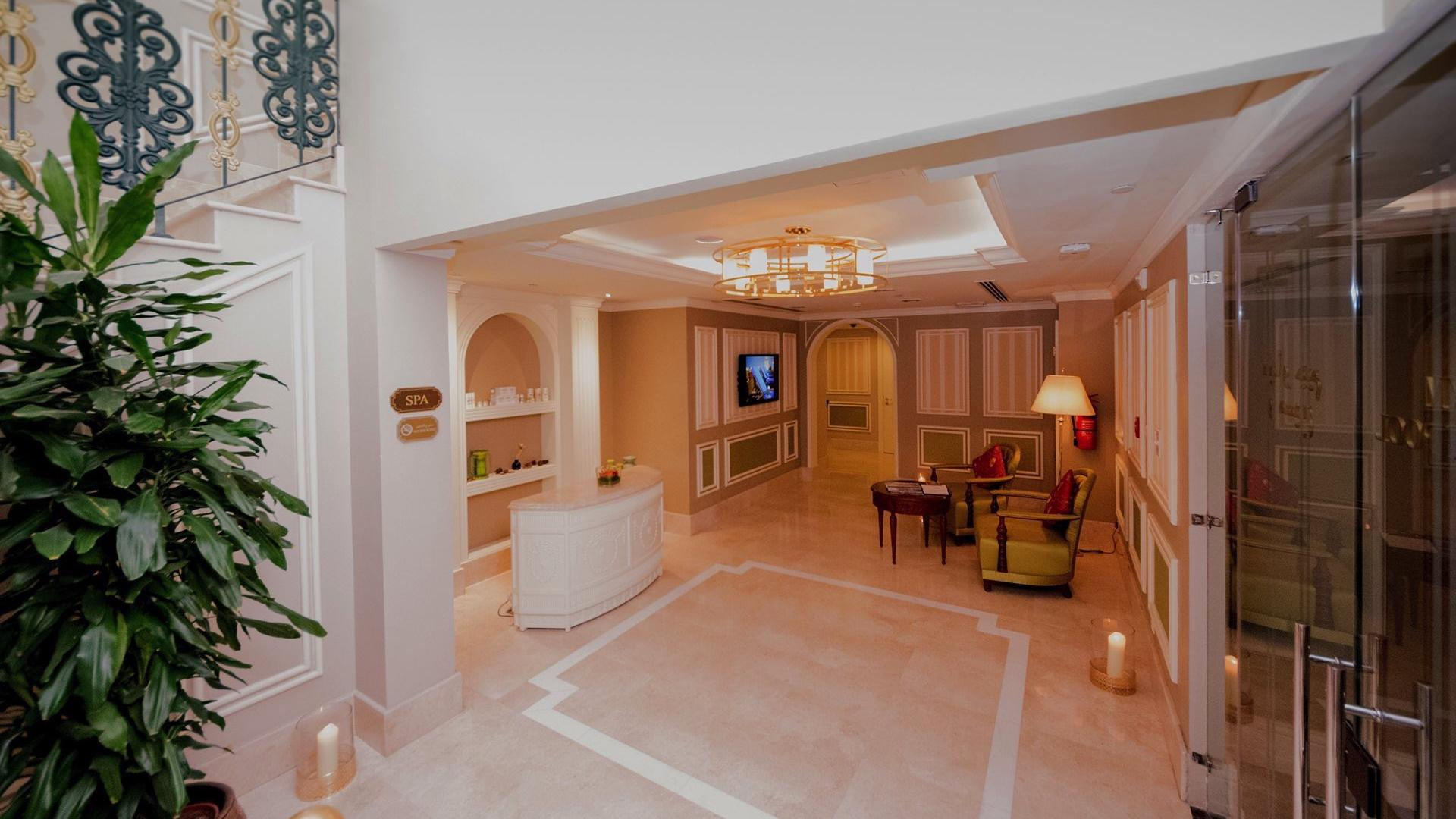 Spa Reception at Warwick Doha