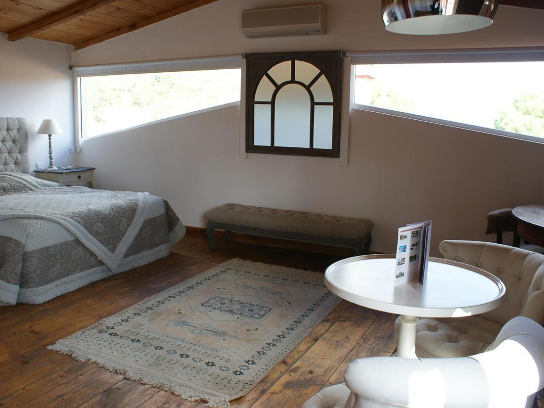Junior Suite Living Room at Roc e Fiori Hotel
