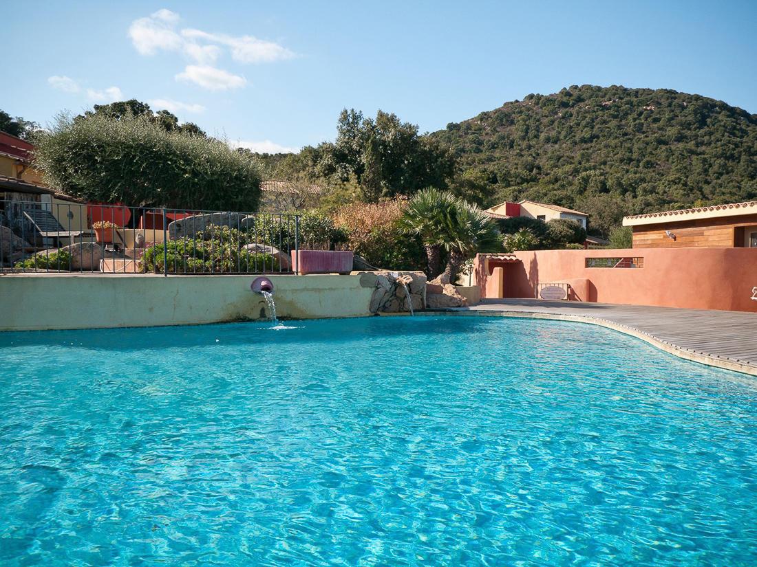 Swimming Pool facing Hill