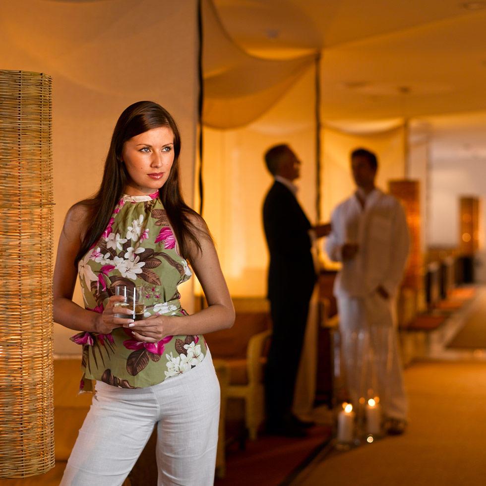 Lobby at Falkensteiner Hotel Adriana