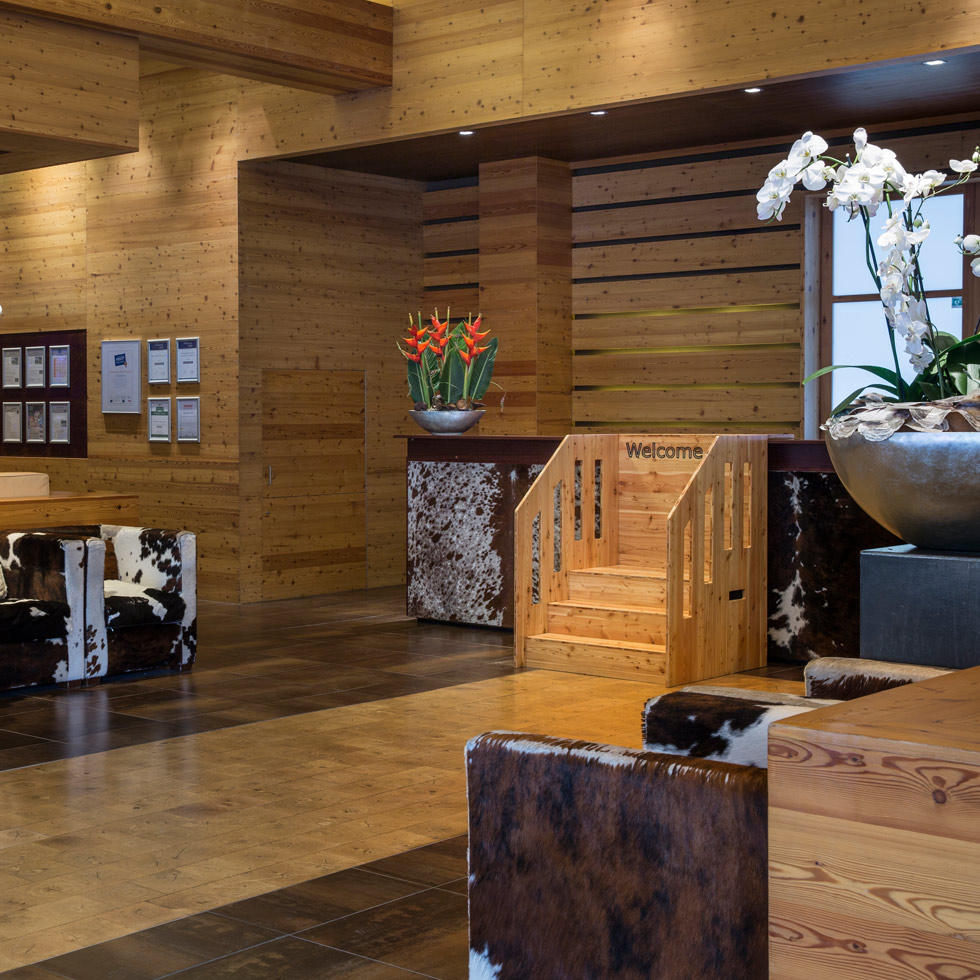 Lobby at Falkensteiner Hotel Cristallo
