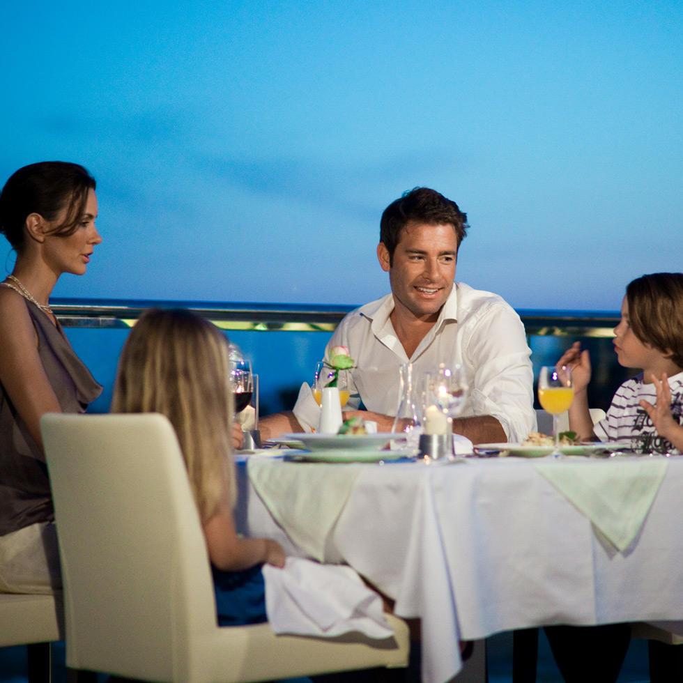 Restaurant at Falkensteiner Family Hotel Diadora