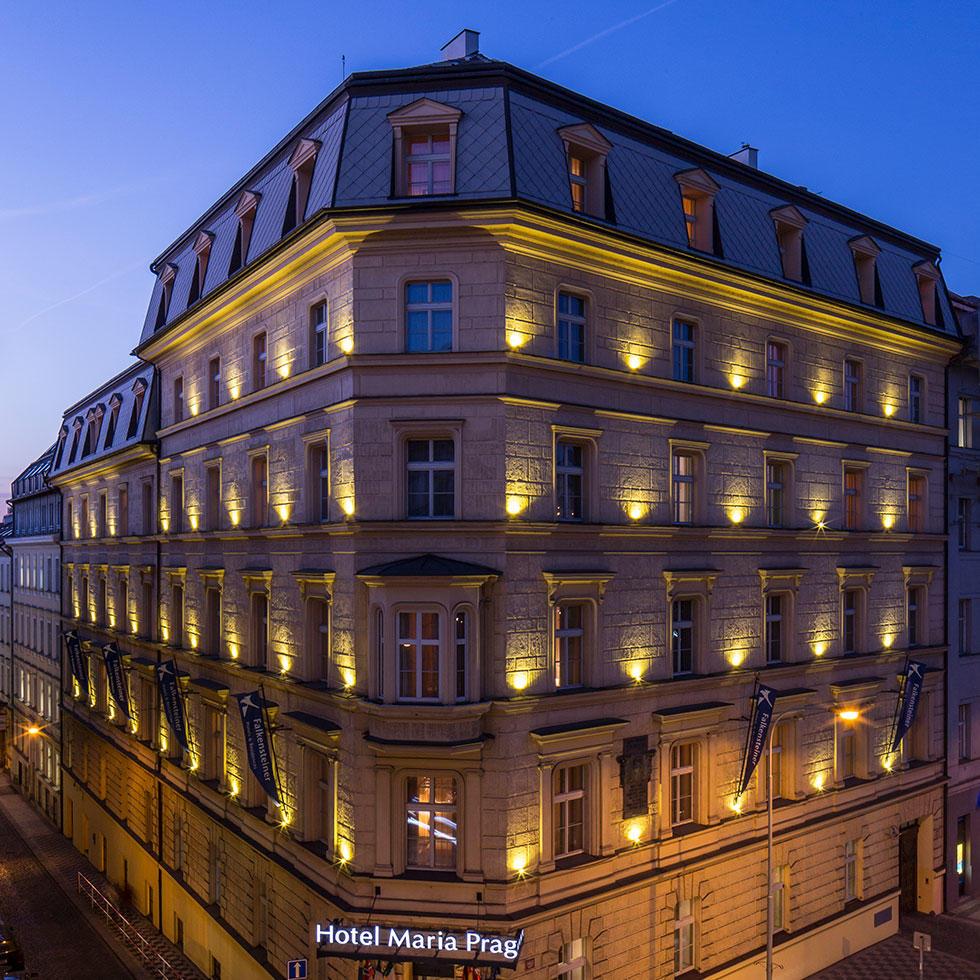 falkensteiner hotel maria prag exterior