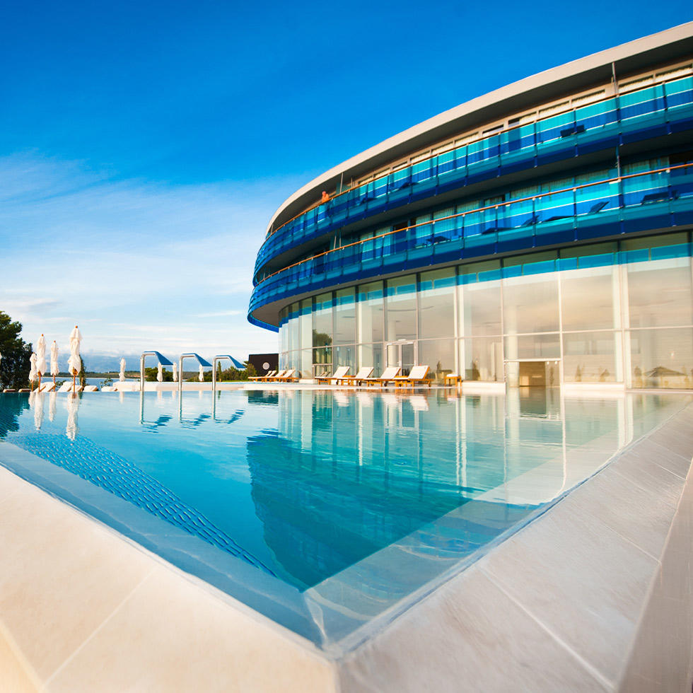 Pool at Falkensteiner Hotel & Spa Iadera