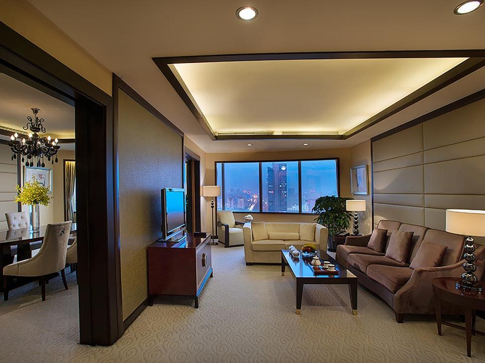Yu Ting Imperial Suite Living Room