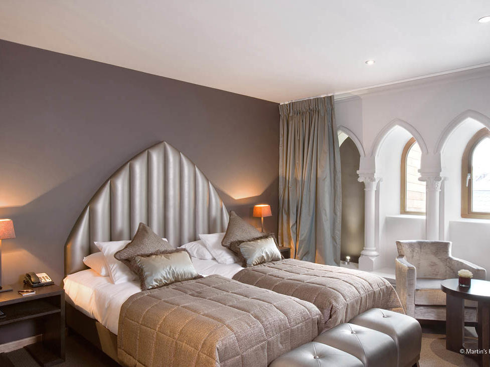 Charming guest room at Martin's Paterhof