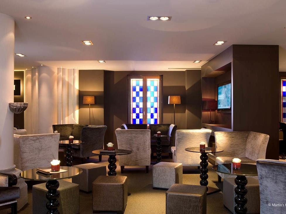 Martin's Patershof Lounge Area