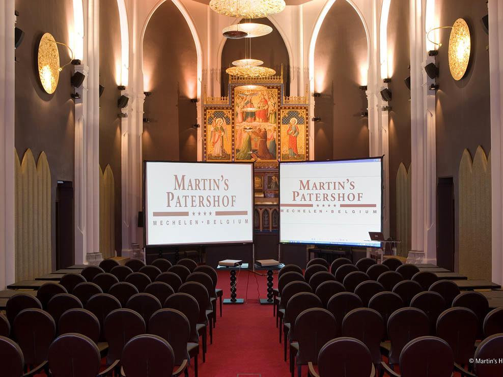 Martin's Patershof meeting room Theater Shape