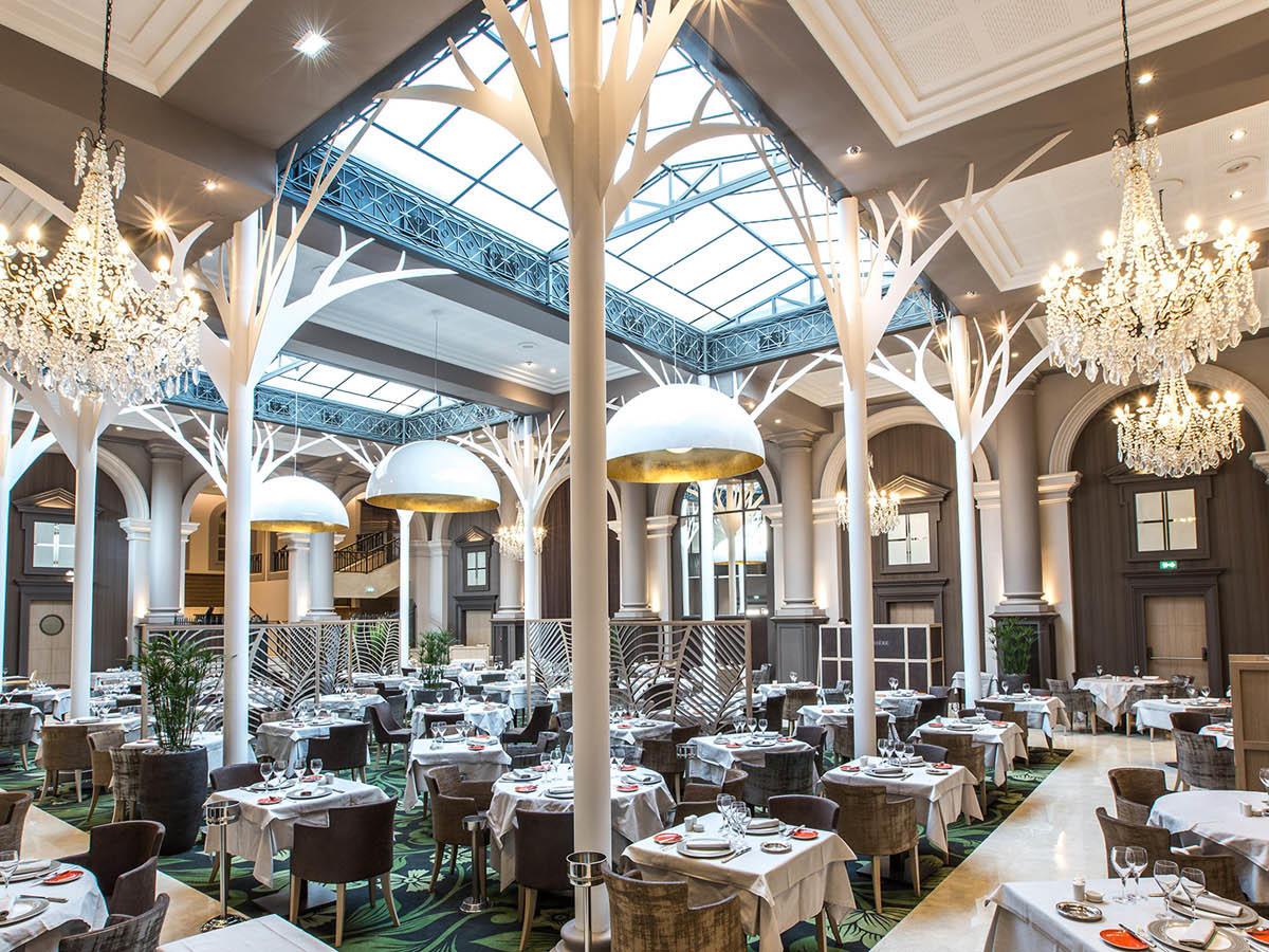 La Verrière restaurant diététique View at Grand Hotel des Thermes