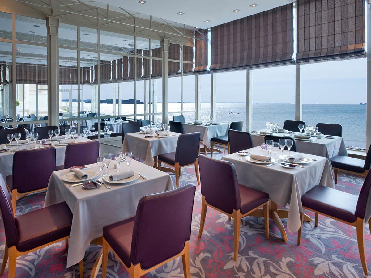 Le Cap-Horn Gastronomique chair at Grand Hotel des Thermes