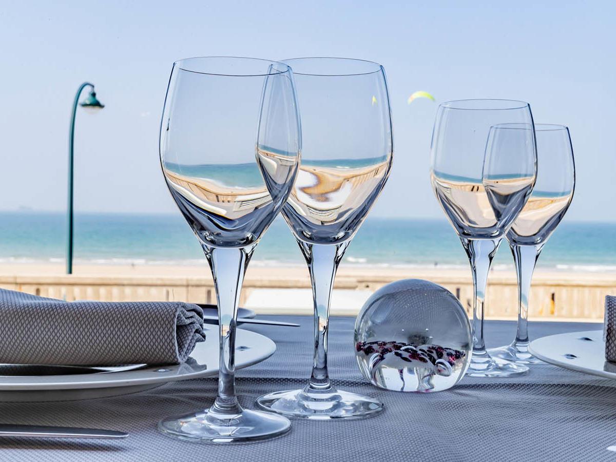 Le Cap-Horn Gastronomique glass at Grand Hotel des Thermes